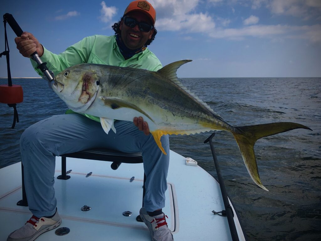 Bayou Tuna, Cajun GT, Jacks or Jack Crevalle.... whatever you call em' - we love catching them!